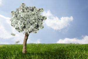revenus garantis grâce aux dividendes