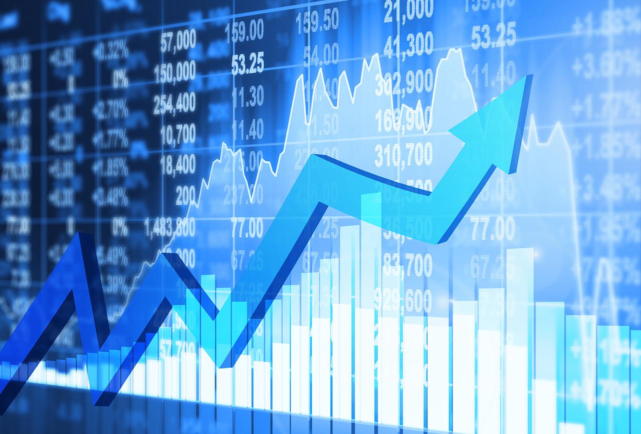 Le marché monte