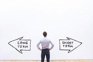 Investissements long-terme/ court-terme