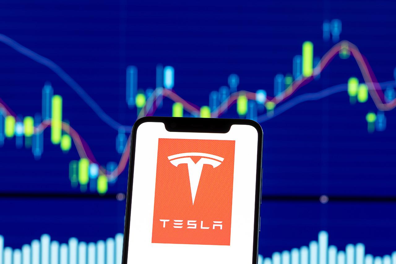 Tesla en bourse